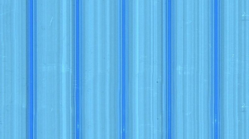 Hohlstegplatten – Blau